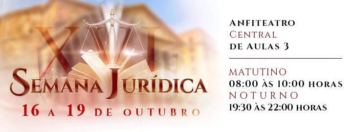 XVI Semana Jurídica